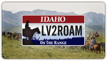 Rangeland License Plates