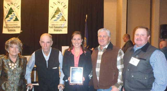 award from the Idaho Association of Soil and Water Conservation Districts