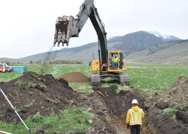 Eagle Valley Ranch converted an open irrigation ditch to an 11,000-foot buried pipeline, doubling the amount of water in Bohannon Creek, a key tributary for steelhead and resident fish.