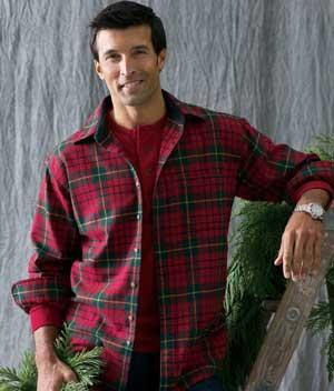 Nice wool shirt.