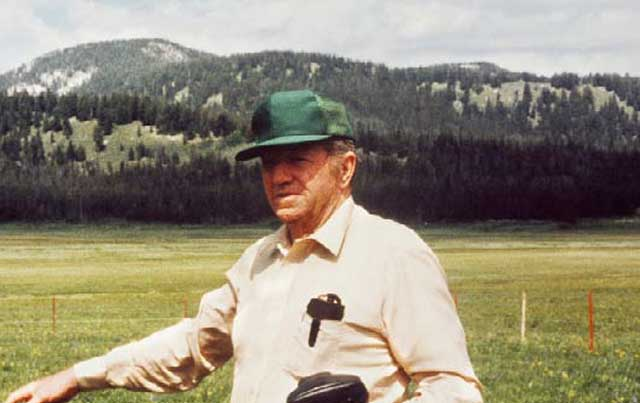 Gus Hormay, a grazing specialist for the U.S. Forest Service, was instrumental in convincing ranchers to try rest-rotation grazing. The Purdys were among the early converts