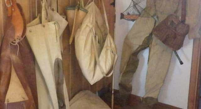 The Harrimans' riding chaps and fishing waders are still there, hanging from a hook in their beloved cabins on the banks of the Henrys Fork.