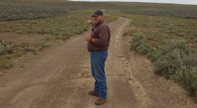 Lance Okeson of the BLM Boise District