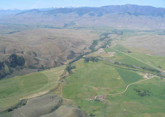 Nikos Monoyios and Val Brackett, owners of the Eagle Valley Ranch, have made multiple improvements to fish habitat on their ranch and donated a big conservation easement to the Lemhi Regional Land Trust.