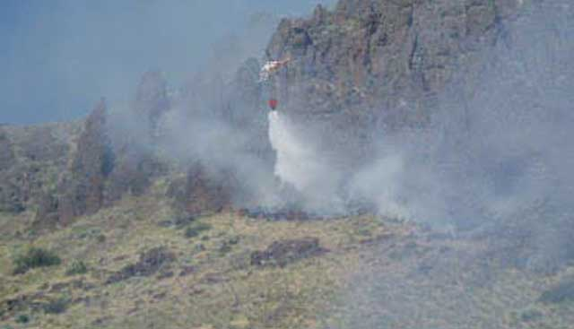 """Ranchers and the BLM worked together to halt the Stout fire at 12,000 acres in the sweltering heat of July. BLM fire officials called it """"a good catch."""""""