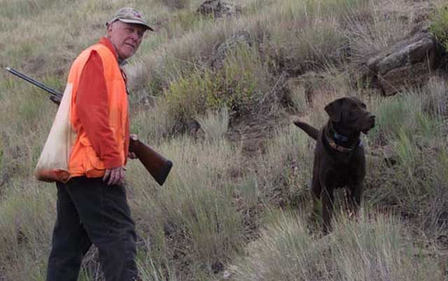 Robert Stoll is an avid chukar hunter. He says it's pretty neat to own your own chukar hunting paradise in Hells Canyon.
