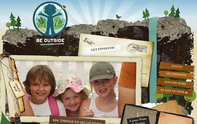 The sage-grouse tour was part of the Be Outside Idaho! cam-paign, which strives to connect kids with nature. The official web site is: http://www.visitidaho.org/children-in-nature/