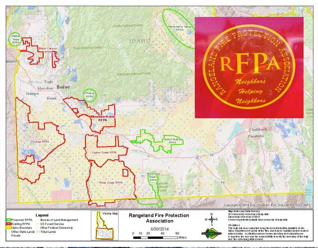 Working with Rangeland Fire Protection Associations to speed up the initial attack on range-land fires is a key cornerstone of the new fire prevention strategy. Idaho leads that effort.