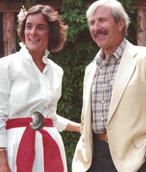 John and Diane got married at the ranch in 1982.