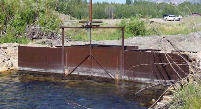 in-stream flows for fish in Pole Creek